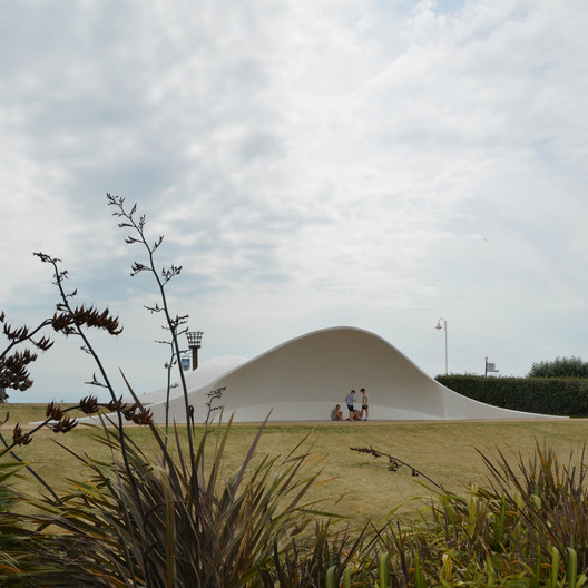Acoustic Shells / Flanagan Lawrence; Shortlisted - Culture, 2009. Image Courtesy of World Architecture Festival