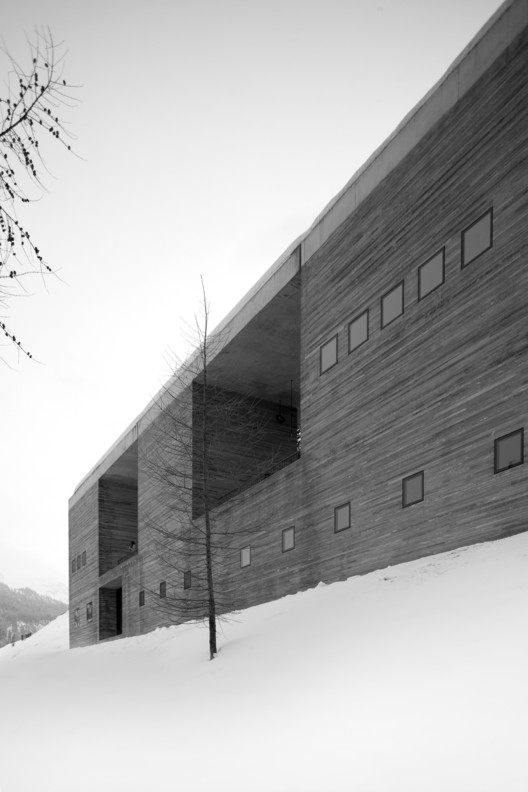 The Therme Vals. Image © Fernando Guerra | FG+SG