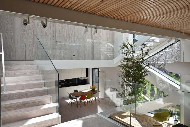 Single Family House Tolstoi Str Outline Architecture