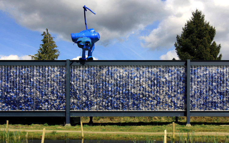 From Recycled Plastic Waste to Building Material, © Project.DWG / Artwork by Jelle de Graaf