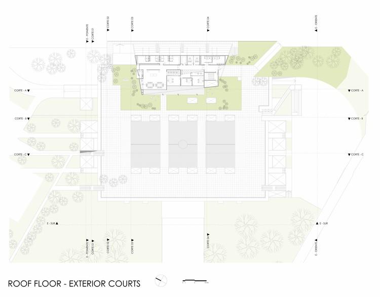 Plano de Cubiertas / Sitio