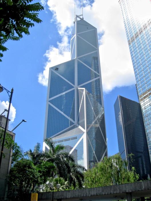 Torre del Banco de China (1989) / Hong Kong. Image © WiNG [Wikipedia], bajo licencia CC BY-SA 3.0