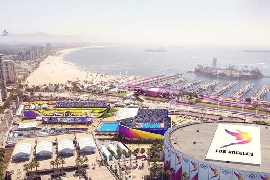 Long Beach Sports Park. Image Courtesy of LA 2024