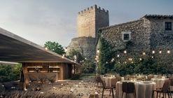 MESURA avanza en remodelación del histórico Castillo de Peratallada en Cataluña