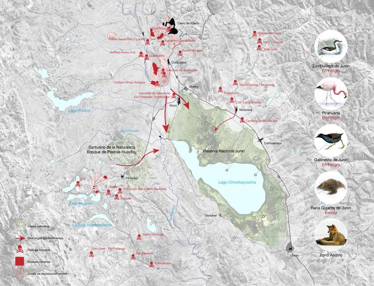 Mapa Conflicto Ambiental. Image Cortesía de Gabriel Vergara