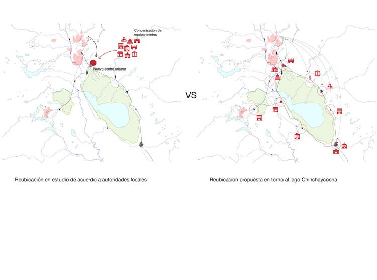 Mapas de Reubicación. Image Cortesía de Gabriel Vergara