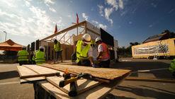 Construye Solar 2017 inaugura en Chile su 'villa solar' con prototipos sustentables de viviendas social