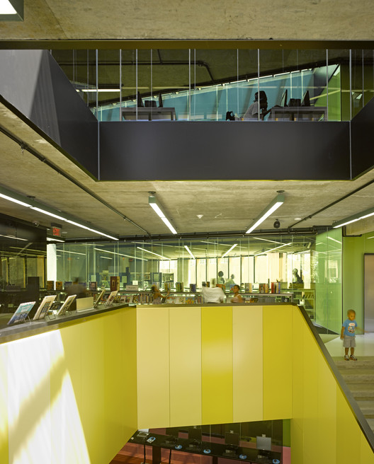 Bellevue Library, Bellevue / Adjaye Associates. Image © Edmund Sumners