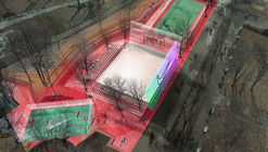 KOSMOS Architects Wins Competition for Landmark Nike Sports Park in Moscow