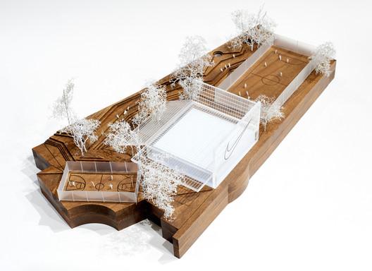Kosmos Architects. Image Courtesy of Nike