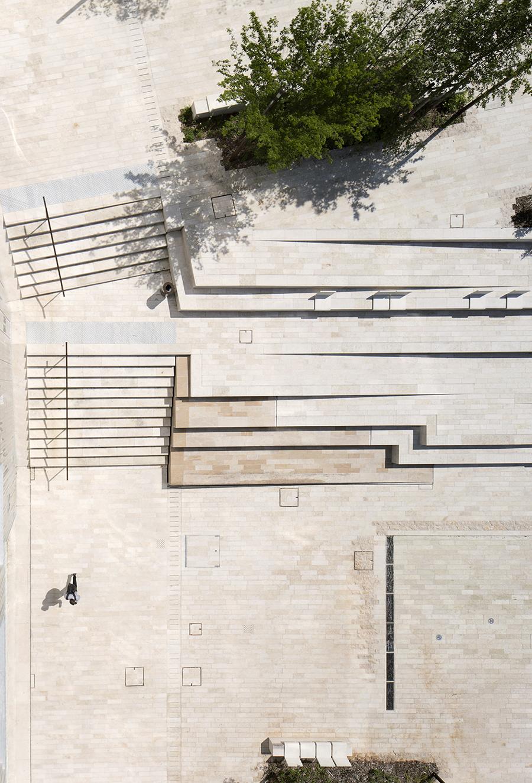 Entrada al pueblo Chatenay Malabry / Ateliers 2/3/4/ - Plataforma Arquitectura
