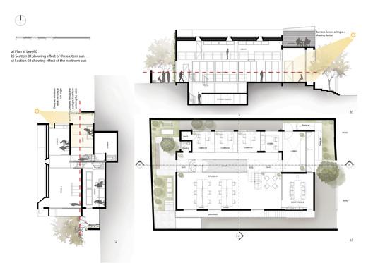 0 Floor Plan / Section