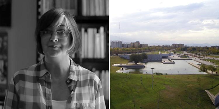 Graciela Silvestri: la construcción del paisaje y el territorio en América del Sur, Parque Central de Mendoza / B4FS Arquitectos, donde integró el equipo de proyecto como asesora en teoría. Image Cortesía de Un Día | Una Arquitecta