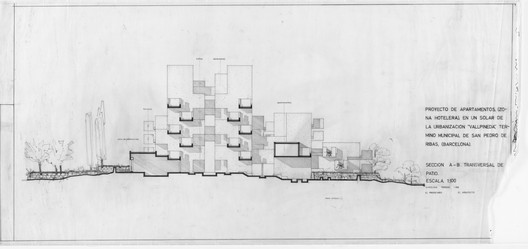 Every aspect of the Castle's design, including its siting, was dictated by mathematical formulae. Image© Ricardo Bofill