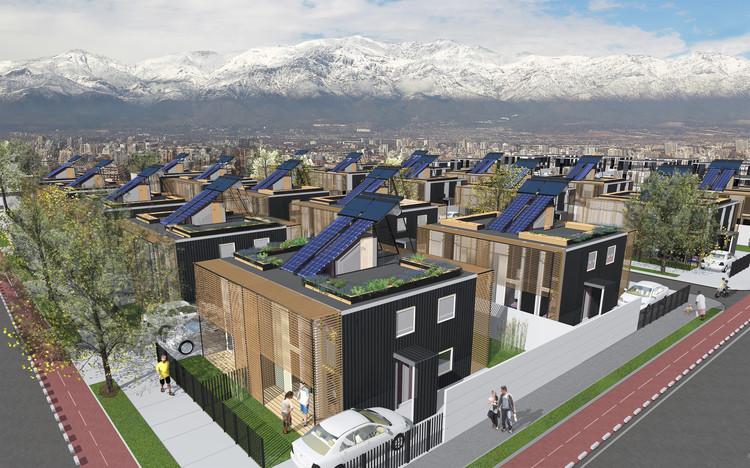 Casa S3, ganadora del Construye Solar 2017, Casa S3. Image Cortesía de Taller 1/1
