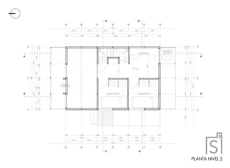 Planta segundo piso (original)