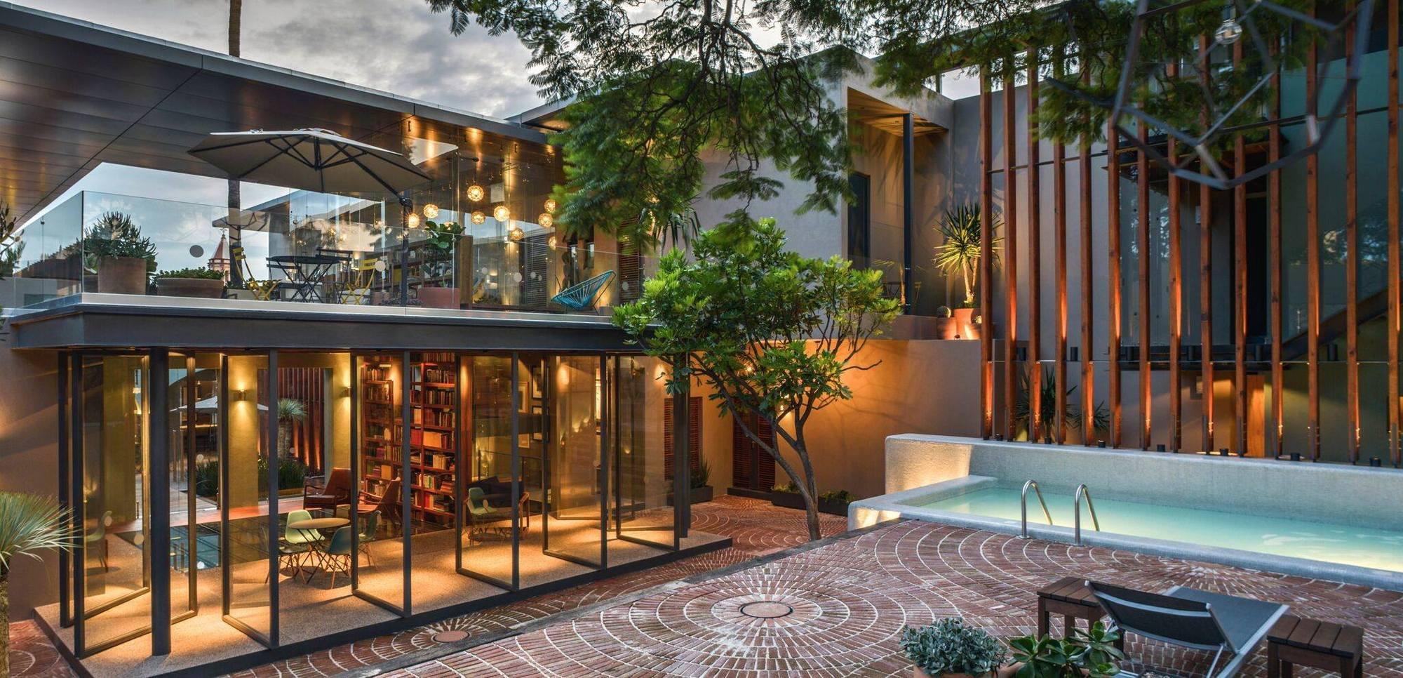 Hotel criol miguel concha arquitectura archdaily m xico for Hoteles de diseno en paris