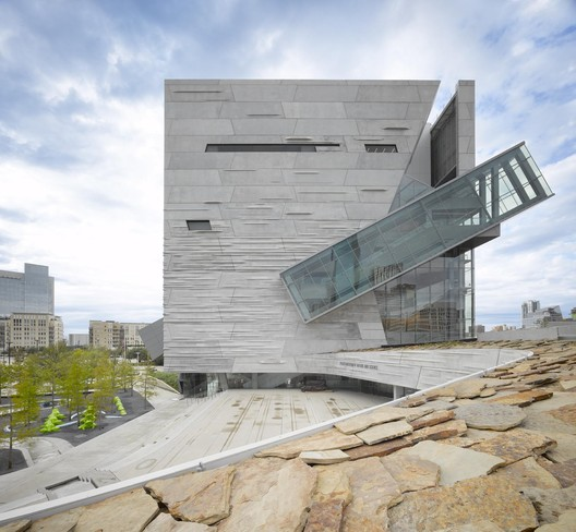 Perot Museum of Nature and Science, 2012. Image © Roland Halbe