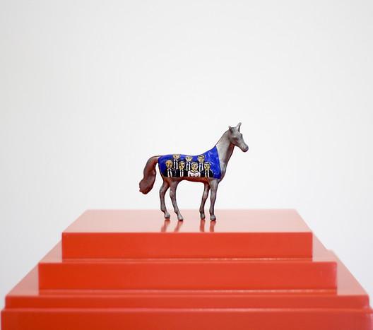 Una pieza de la exposición. Image Cortesía de Museo Universitario de Arte Contemporáneo