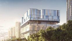 Mecanoo Envisages Cubic Cultural Center With Third-Place Proposal