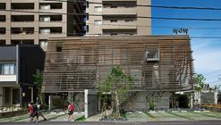 Wow! Sta. / Takeru Shoji Architects