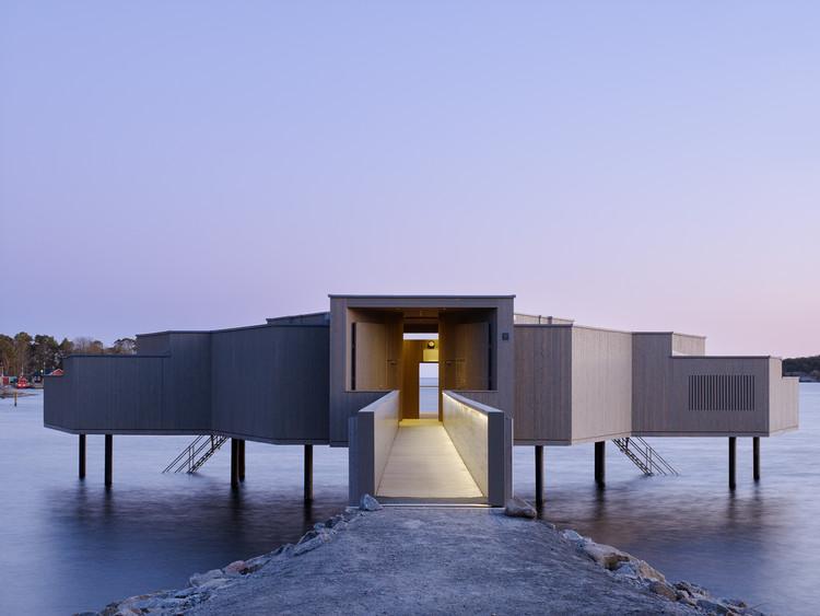 Karlshamn Cold Bath House / White Arkitekter, © Bert Leandersson