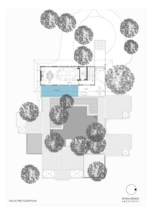 Villa 8 First Floor Plan