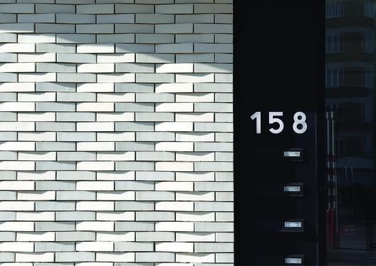 5 unidades de vivienda social en Navez / MSA / V+. Image © Serge Brison