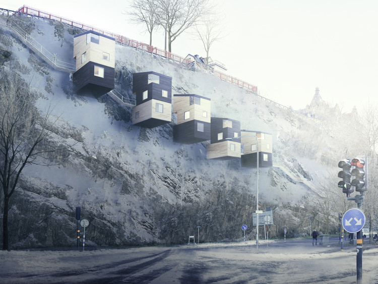 Forget Treehouses - Cliffhouses are the Future