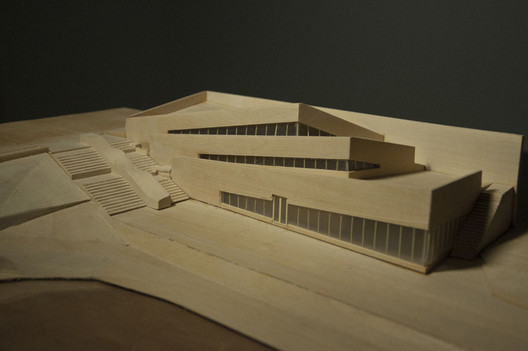 model. Image © Praxis d'Architecture