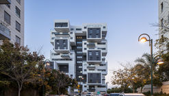 Calle Haganim 22 en Ramat Ha'sharon  / Bar Orian Architects