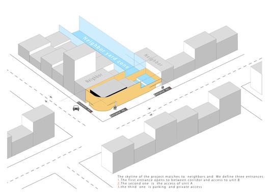 Site Plan Isometric