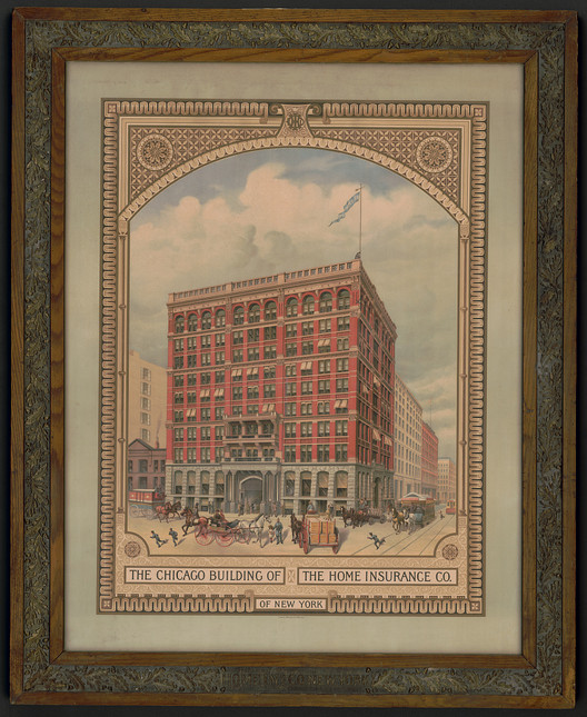 Home Insurance Building in Chicago, Illinois. Image <a href='https://www.loc.gov/item/2010634573/'>via Library of Congress</a>