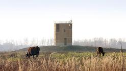Torre observatorio Negenoord / De Gouden Liniaal Architecten