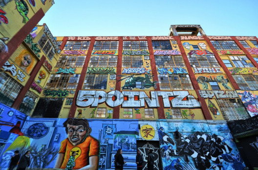 5 Pointz. Image © <a href='https://www.flickr.com/photos/55229469@N07/10675842463'>Flickr user Forsaken Fotos</a> licensed under <a href='https://creativecommons.org/licenses/by/2.0/'>CC BY 2.0</a>