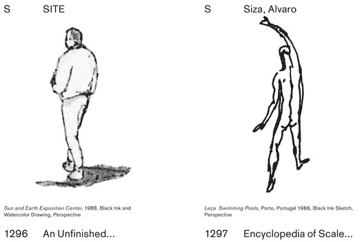 """MOS Architects, """"An Unfinished Encyclopedia of Scale Figures without Architecture"""" – Alvaro Siza Viera. Image © MOS Architects"""