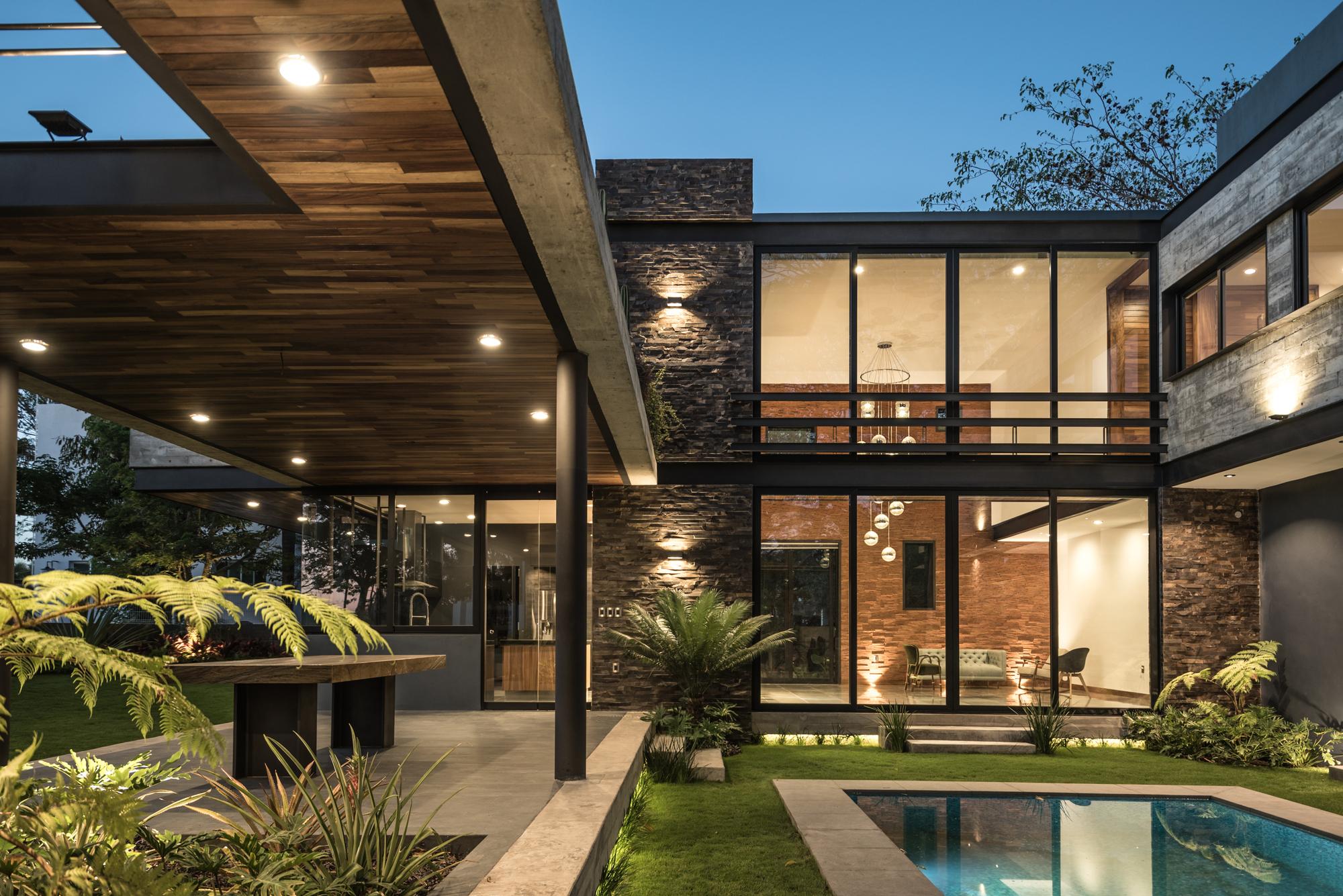 Casa kalyvas di frenna arquitectos archdaily m xico - Que es un porche en arquitectura ...