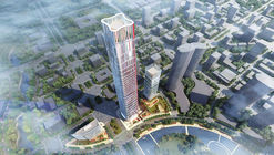 Goettsch Partners Wins Competition for 1,312-Foot-Tall Tower and Mixed-Use District in Wuhan