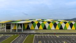 Side view of setia city convention centre 2
