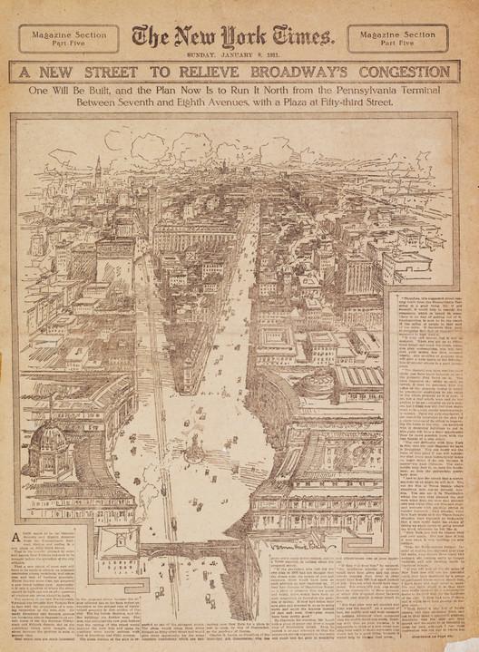 Charles Lamb's Diagonal Plan. Image Courtesy of Metropolis Books