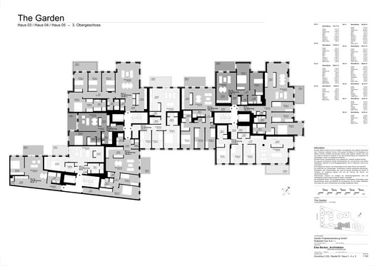 Houses 3, 4 and 5 - Floor Plan