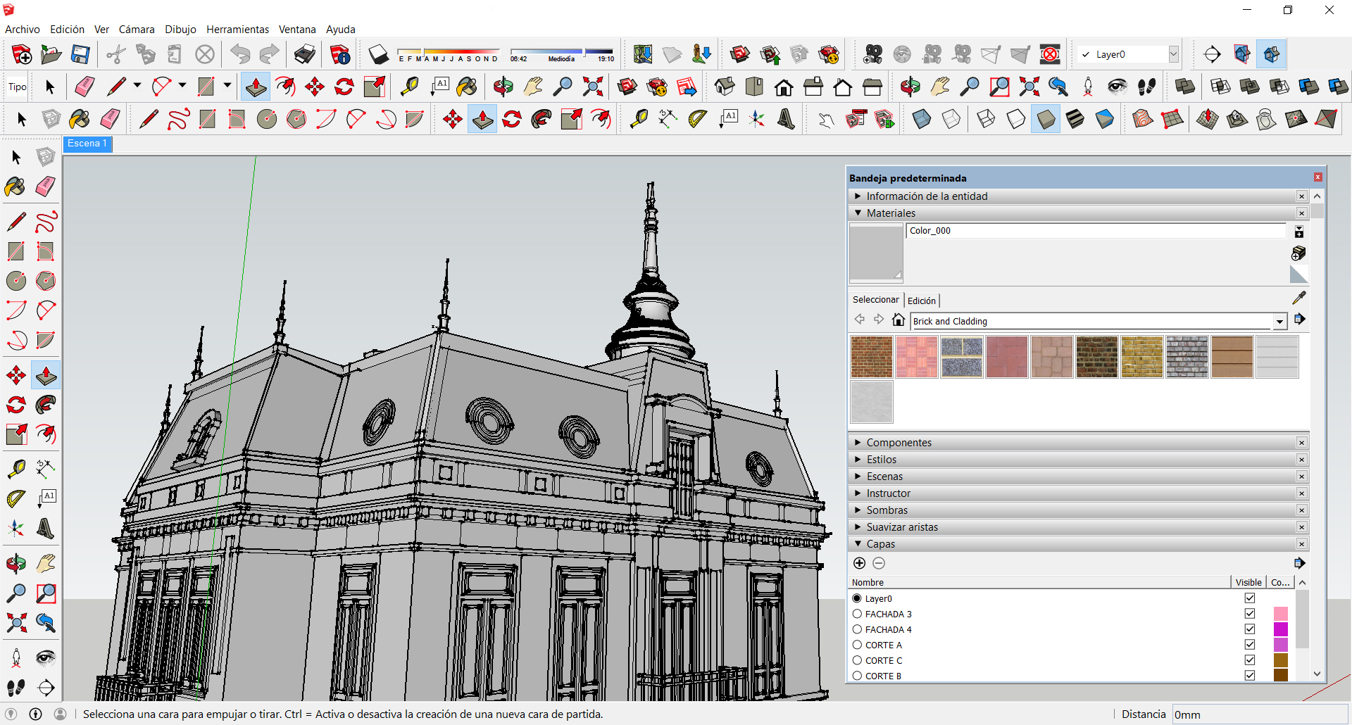 Room Blueprint Tool How To Improve Your Sketchup Skills Archdaily