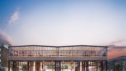 Construction Begins on Project to Transform Railway Hangar into a Mixed-Use Library in The Netherlands
