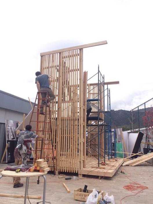Trabajo 1:1 Alumnos . Image Cortesía de Facultad de Arquitectura UDD
