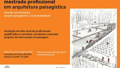 Seleção para mestrado profissional em arquitetura paisagística na UFRJ