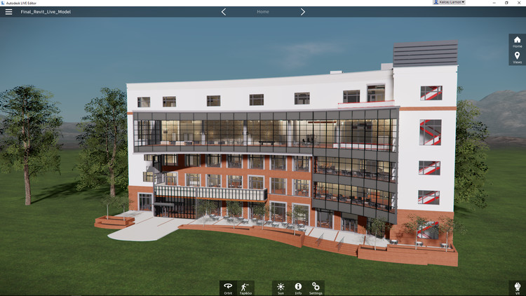 Will Virtual Reality Transform the Way Architects Design?, An immersive visualization of a user's Revit model in Revit Live