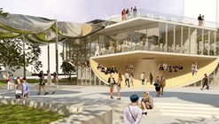 OMA and Mia Lehrer Associates' FAB Park Redesigned for More Green Space