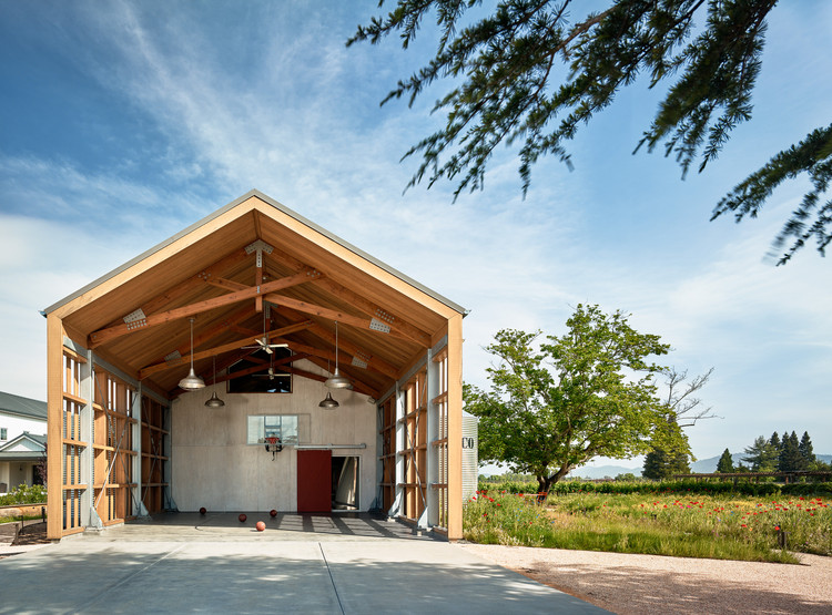 Napa Barn Anderson Architects Archdaily