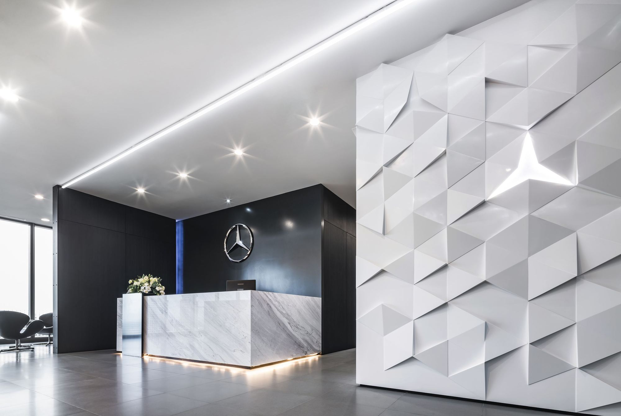 Gallery of mercedes benz thailand headquarters pbm 20 for Where is mercedes benz headquarters
