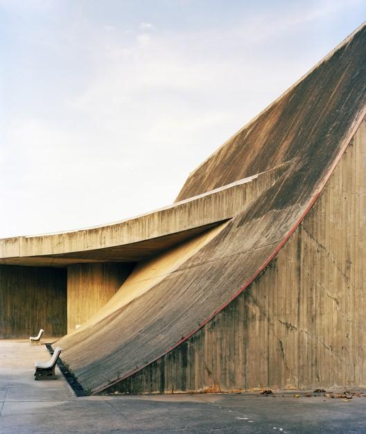 "Oscar Niemeyer, The Village, Houari Boumediene University of Science and Technology, 2013, Bab Ezzouar, Algeria. Photo: Jason Oddy. For the 2017 Individual Grant to Jason Oddy for ""Concrete Spring: Oscar Niemeyer, Algeria, and the Architecture of Revolution."". Image Courtesy of Graham Foundation"